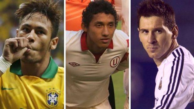 Christofer Gonzales fue elegido para jugar con Neymar ante Messi en Lima