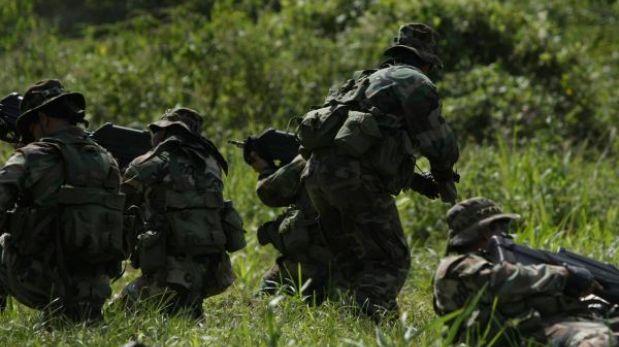Fuerzas del Ejército y la PNP desactivaron explosivos en gaseoducto Camisea