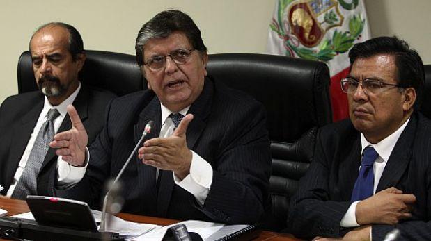 Alan García defendió ante la megacomisión labor de Miguel Facundo Chinguel