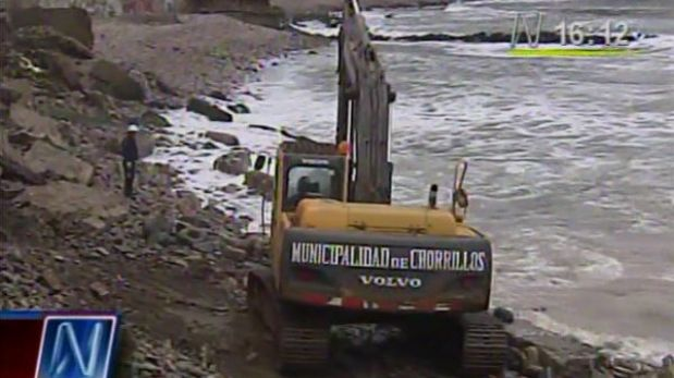 Edificio en playa La Herradura será reforzado ante amenaza de erosión
