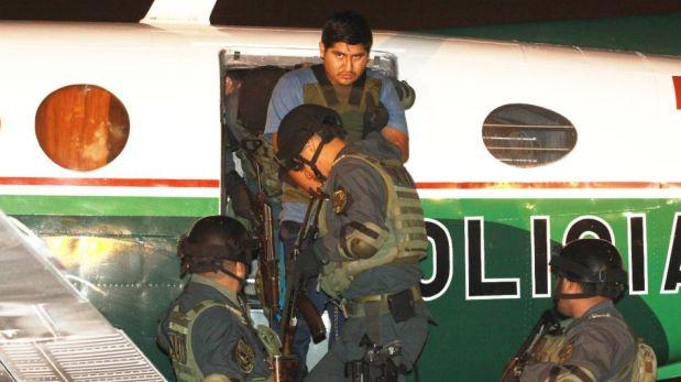 FOTOS: el delincuente 'Pícolo' llegó a Lima en medio de un fuerte resguardo policial