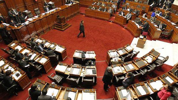 El pleno del Congreso inició debate sobre Ley del Servicio Civil