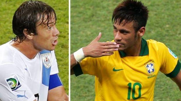Capitán de Uruguay criticó a Neymar y calentó el duelo ante Brasil