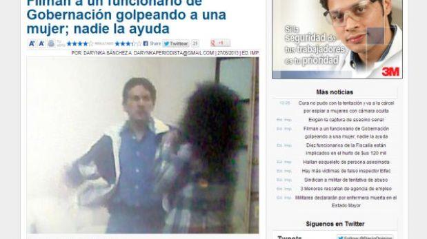 Bolivia: ex embajador ante la OEA denunciado por agredir a su secretaria