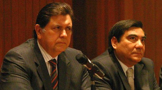 Responsabilidad por 'narcoindultos' no llegaría hasta Alan García, afirmó ex ministro