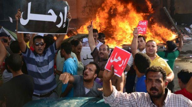 Egipto: murieron dos personas durante manifestaciones contra Mohamed Mursi