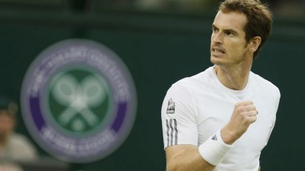 Wimbledon: Murray avanzó a octavos de final tras vencer a Tommy Robredo