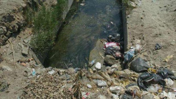 Los desagües se vierten al río Piura sin tratamiento previo