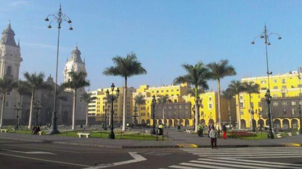 Lima amaneció con un inusual brillo solar tras varios días nublados