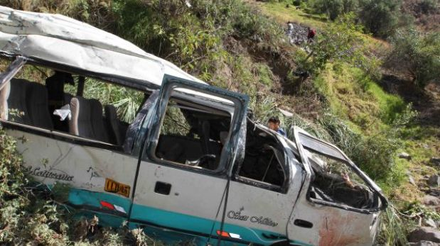 Tragedia en Áncash: combi accidentada no tenía SOAT