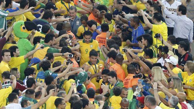 FOTOS: así festejó Brasil el título de campeón de la Copa Confederaciones 2013