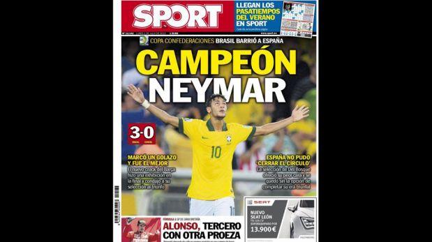 """FOTOS: elogios para Neymar en la prensa mundial y para un Brasil que está """"de regreso"""""""