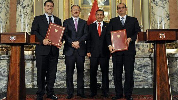 """Humala: """"Con la ayuda del Banco Mundial podemos reducir brecha de desigualdad"""""""
