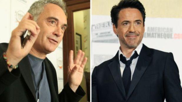 Ferran Adrià quiere que Robert Downey Jr. lo interprete en filme