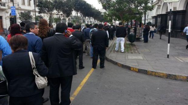 Trabajadores estatales retoman protestas contra Ley del Servicio Civil en provincias