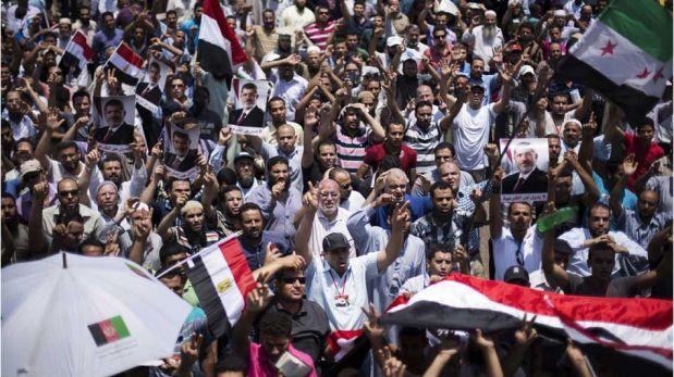FOTOS: el mar humano de indignación que protesta en Egipto