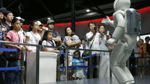 El robot Asimo decepciona al interactuar con las personas