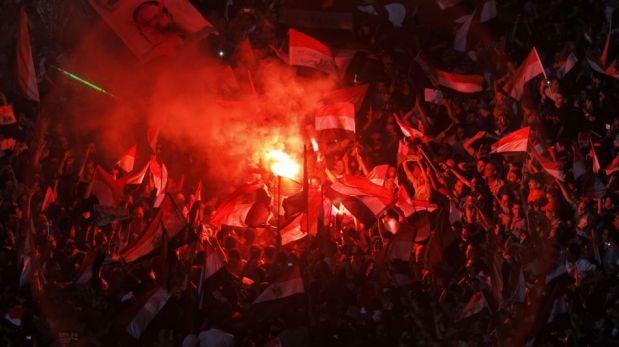 FOTOS: Egipto celebra el derrocamiento de Mohamed Mursi