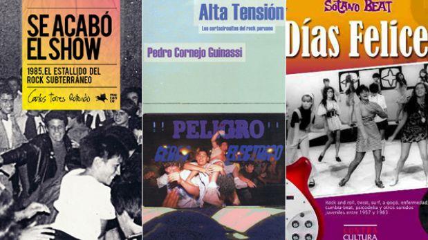 Cinco libros de rock peruano que todo melómano debería tener