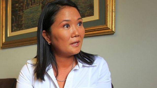 """Keiko Fujimori le pidió a presidente Humala """"no promulgue"""" la Ley del Servicio Civil"""