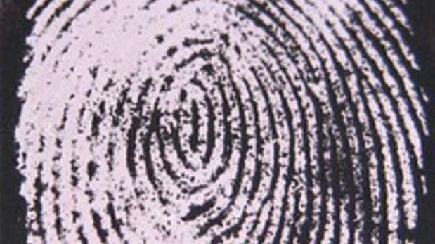 Etiquetas brillantes para revelar huellas ocultas en escenas de crímenes
