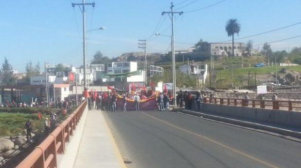 Movilizaciones contra Ley del Servicio Civil se retoman en el interior del país