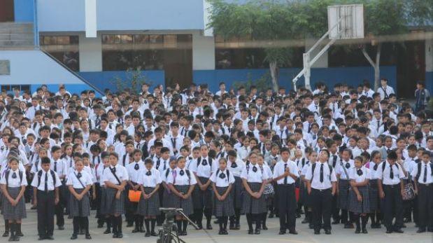 Estos son los colegios del Perú con mejor rendimiento, según la PUCP