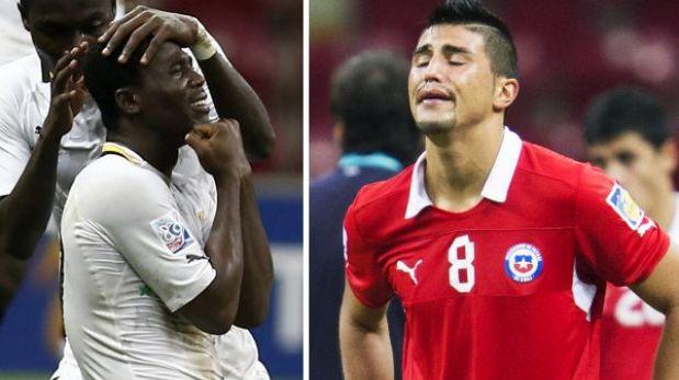 Mundial Sub 20: Ghana remontó y eliminó a Chile en tiempo suplementario