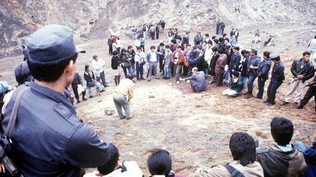 FOTOS: el día en que se hallaron los cuerpos de las víctimas de La Cantuta