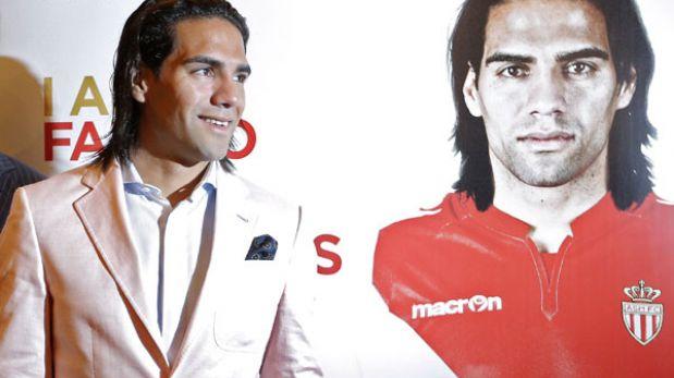 """Radamel Falcao fue presentado en Mónaco: """"Cuando gane un título me darán la razón"""""""