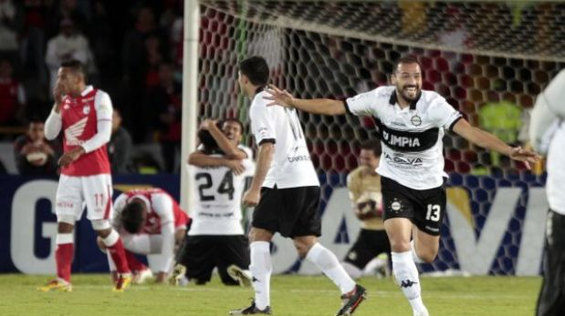 Copa Libertadores: Olimpia pasó a la final pese a caer 1-0 ante Santa Fe