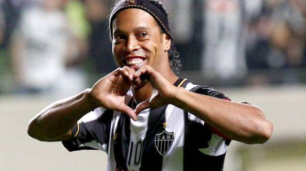 """Ronaldinho tras ganar la Libertadores: """"Decían que estaba acabado"""""""