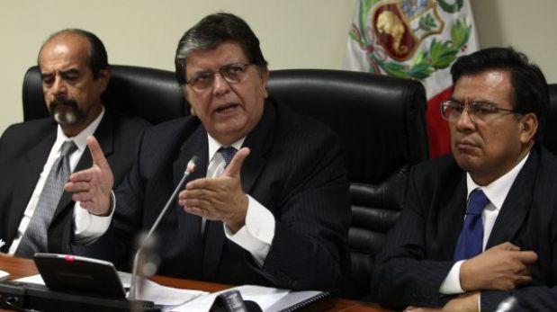 Megacomisión: difusión de audios desbarata argumento de amparo de Alan García