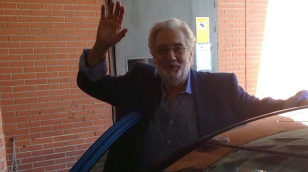 """Plácido Domingo superó embolia pulmonar: """"Me voy a casa"""""""