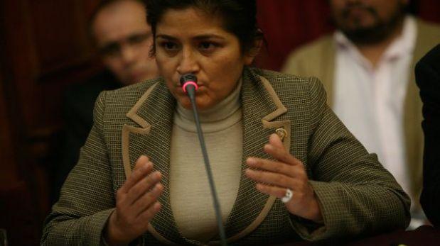 """Nancy Obregón fue detenida por """"presuntos vínculos con el narcotráfico y Sendero"""""""
