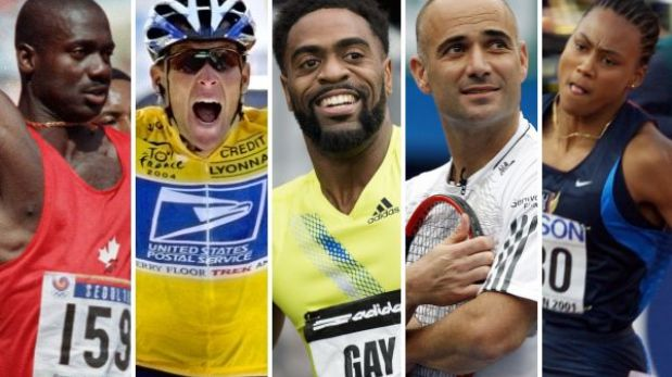 Tyson Gay y otros deportistas famosos que reconocieron doping