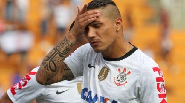 Corinthians con Paolo Guerrero cayó 1-0 ante Atlético Mineiro