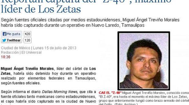 México: el máximo líder del cártel de Los Zetas fue capturado