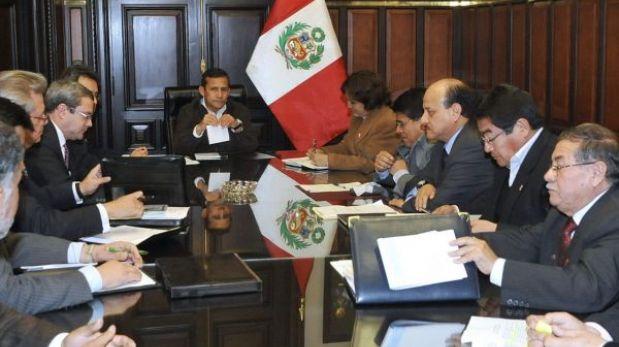 La CGTP protestará el 27 de julio a pesar de reunión con Ollanta Humala