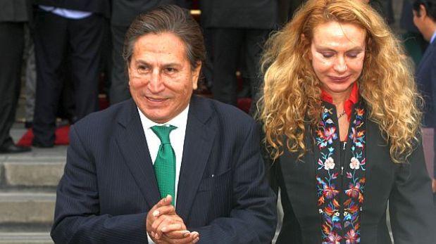 Alejandro Toledo acompañó a su suegra a buscar inmueble
