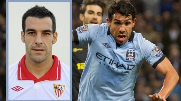 Manchester City fichó a Álvaro Negredo para reemplazar a Tevez