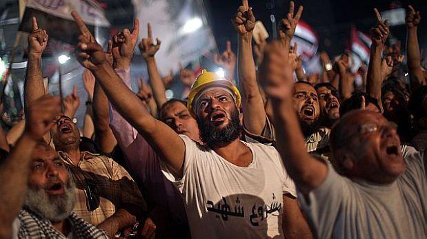 Egipto ordenó retirar campamentos islamistas de protesta de El Cairo