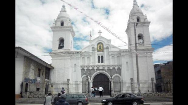 Junín: delincuentes roban joyas de la iglesia matriz de Jauja