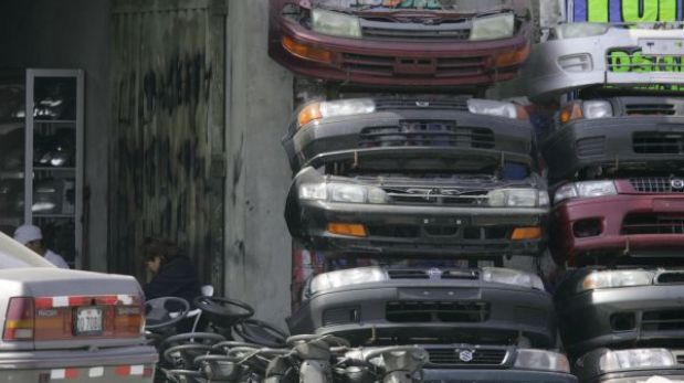 Mercado de autopartes San Jacinto será cerrado por la policía