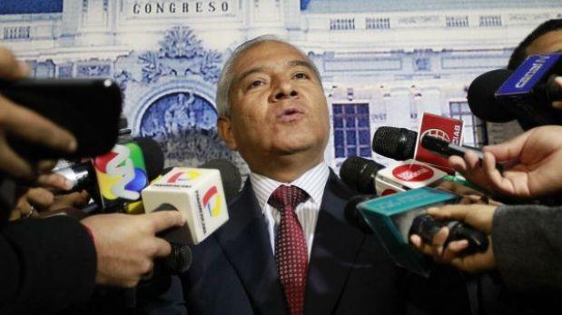 Fujimorismo retiró firmas para interpelar al ministro Wilfredo Pedraza