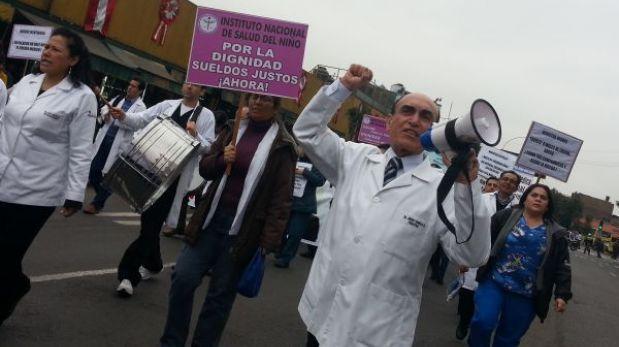 La huelga continuará: se frustró la negociación entre médicos y el Minsa