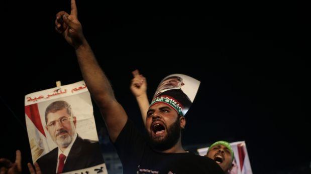 FOTOS: a un mes del derrocamiento de Mohamed Mursi, sus seguidores siguen en pie de lucha