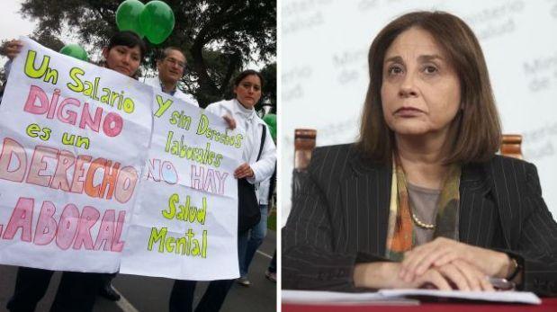 """""""Ministra de Salud le miente a los médicos con un aumento falso"""""""