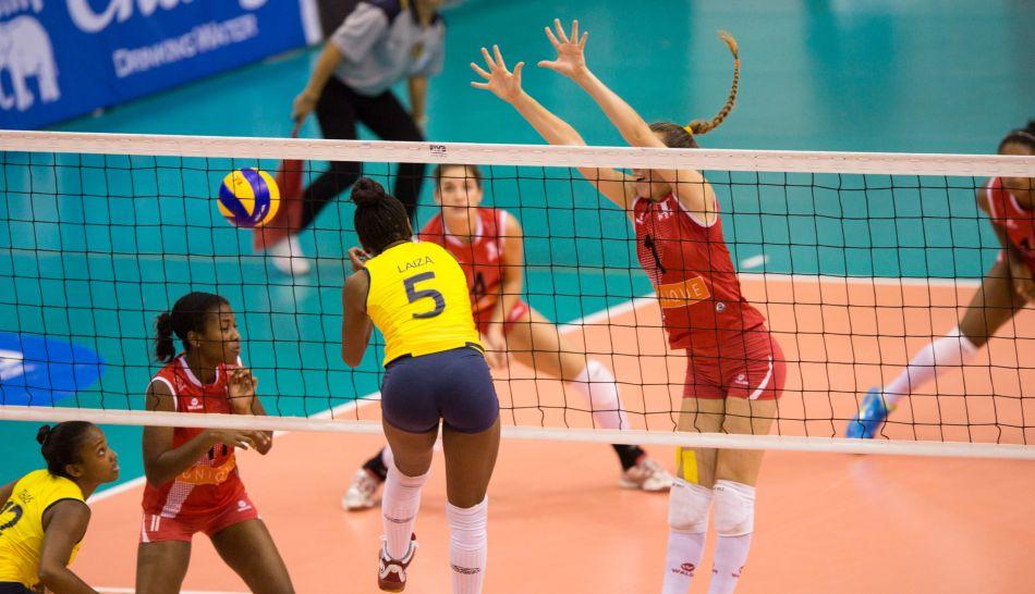 Fotos la derrota de per ante brasil y el cuarto puesto - Red voley piscina ...