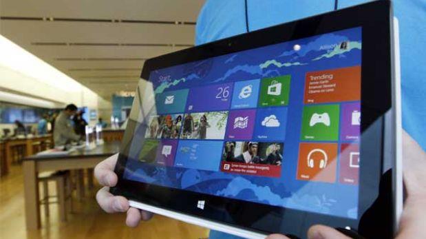 Microsoft rebajó en 100 dólares su tablet Surface Pro